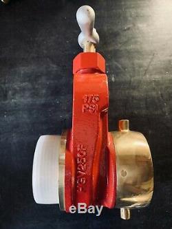 2-1/2 Male X Female NH Fire Hydrant Gate Valve