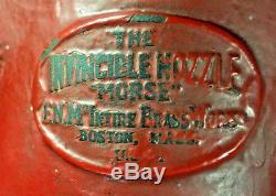 8 Morse Fire Water monitor /Deck pipe The invincible Nozzle (id330)