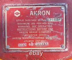 AKRON Apollo GROUND MONITOR BASE 4420/4422 with Excell 1000 Nozzle