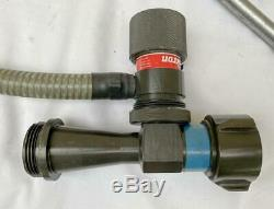 Akron 95 GPM Fire Nozzle Pyrolite In-Line 1-1/2 Foam Eductor Style 3095