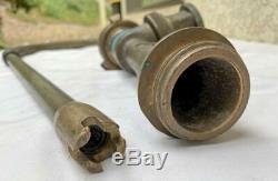 Akron Brass In-Line Foam Eductor 95 GPM Fire Nozzle 1-1/2