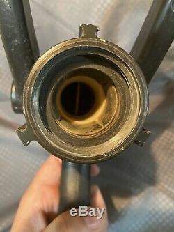 Akron Brass Style 1723 Fire Hose Nozzle 95-200 GPM Turbojet Firefighter (21286)
