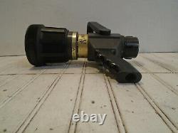 Akron Saberjet Style 1523 1-3/4 Automatic Dual Fire Nozzle Pistol Grip 12
