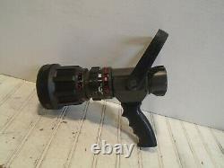 Akron Turbojet Style 1723 1-3/4 Automatic Fire Nozzle Pistol Grip 12