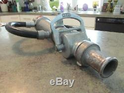 American LA FRANCE Fire Nozzle FIREFIGHTER Double Handle Fireman Hard To Find