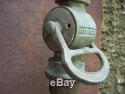 Antique 24 American LaFrance Fire Hose Nozzle Patented July, 15 1919