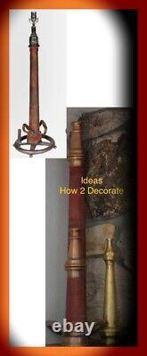 Antique Brass Fire Hose Nozzle 30