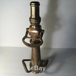 Antique Brass Fire Nozzle COLT
