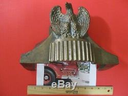 Antique Elkhart Brass Fire Hose Control Base