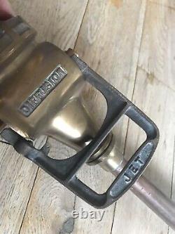 Antique Vintage Original Brass Copper Rare Fire Hose Branch Nozzle