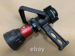 Break Apart Fire Water Nozzle 1-1/2 In Rigid Alum MOON AMERICAN 506P-1524 41H470