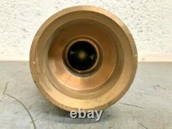 Bronze Marine Fire Hose Nozzle F216-5391-W10/08 EX-MOD