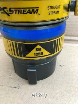 ELKHART BRASS SM-1250B Fire Hose Nozzle, 2-1/2 In, Yellow #B-22