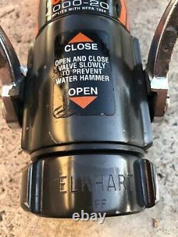 Elkhart Brass Chief 4000-20 Fire Hose Nozzle Fog Straight Stream 1 1/2