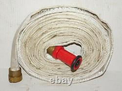 Elkhart Brass EX3450 100' Fire Man Station Truck 250 PSI Hose Red Nozzle Fitting