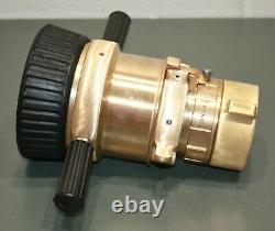 Elkhart Brass Industrial Fire Hose Nozzle CSW-LB, 2-1/2, Constant Flow, SS/Fog