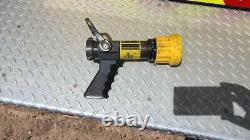 Elkhart Brass SM-10FG 1.5 inch Select-O-Matic fire hose nozzle