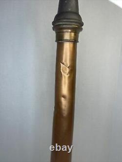 Elkhart Brass Vintage Fire Hose Nozzle 30 Antique