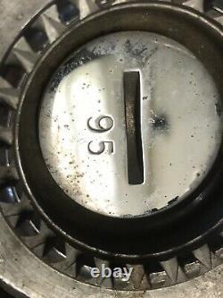 Elkhart H Fire Hose Nozzle 1 1/2 Chrome over Brass