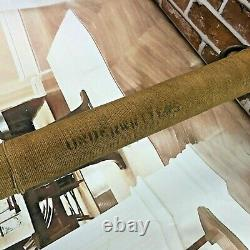 Fire Dept Brass 30 Long Fire Fighting Hose Nozzle Firefighter String Rope Wound