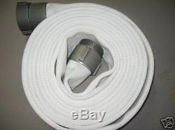 Fire Hose 2 X 50' with Aluminum Couplings