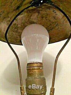 Fire Hose Antique Brass Nozzle Steam Punk Table Lamp Copper Brass 22
