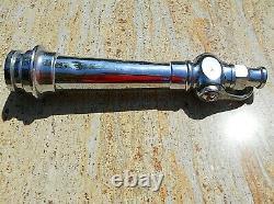 Fire Hose Nozzle Chromed Brass & Copper Charles Winn & Co Vintage 39 cm Long