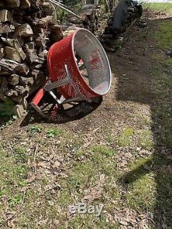 Fire Truck Hose Basket Autocar Fire Truck Lally Hose Co