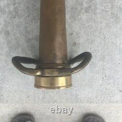 Fire hose nozzle brass