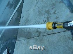 Fire nozzle sm 20f elkhart perfect stream select o matic 1.5 NS hose 60-200gpm