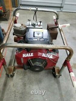 Hale Fire Truck Pump System 25FB-42 18 HP up to 240 GPM electric start 2.5