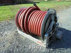 Hannay SUPER BOOSTER 1/3 HP Electric Fire Truck HOSE REEL with Hose and Hale Pump