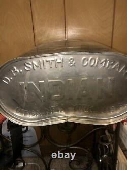 Indian Fire Pump D. B. Smith & Co. Utica NY Firefighter Equipment Vintage 1
