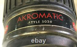 (Lot of 5) AKRON Akromatic Fire Hose Nozzles Very Good to Excellent Condition