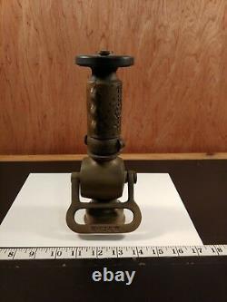 MOON AMERICAN Fire Hose Nozzle, Brass. (Bin73)