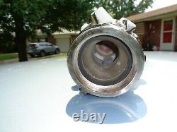 Mint Condition Akron Brass Revolving Cellar Fire Nozzle Chrome Nst