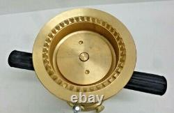 NEW! ELKHART BRASS Industrial Fire Hose Nozzle, 2-1/2 In