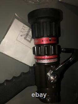NEW Elkhart Brass Phantom Fire Nozzle 1.5 NH/NST 75 psi 30-200 gpm