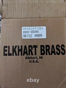 NEW in BOX! Elkhart Brass Handline Nozzle Playpipe B-278