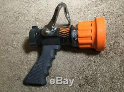 New Elkhart Brass Chief 4000-13 1.5' Fire Hose Nozzle With Pistol Grip