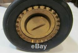 New Elkhart Sfl-gn-95 Cast Brass Fire Hose Nozzle 95-gpm 1.5 Pistol Grip