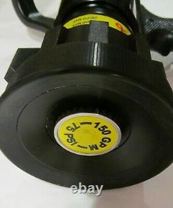 New Viper Spartan 150 Fire Hose Nozzle 1-1/2 150 Gpm 75 Psi