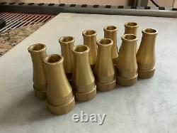 Pok 1.5in Nst Fire Hose Nozzle Gold 0/ 1in Qty 10