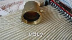 Potter-Roemer Semi Automatic Fire Hose 2792 Brass Nozzle