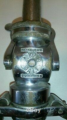 Rare 20 Vintage Akron Akr-o-ball Fire Truck Hose Nozzle 1746608 2283986 F/sh
