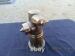 Rare Fire Hydrant Model Jones Large Heavy Brass 2002