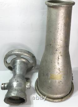 Rockwood Sprinkler Company No 101- 2 1/2 aluminum fire fighting Foam Nozzle
