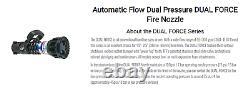 TFT Dual Force 1.5 Fire Hose Nozzle
