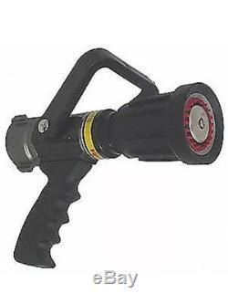 VIPER Fire Hose Nozzle, 1-1/2 In, Black, ST2510-PV
