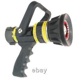 VIPER SG3012 Fire Hose Nozzle, 1-1/2 In, Black